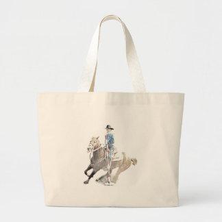 pole bender II Jumbo Tote Bag