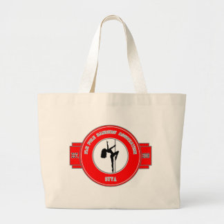 Pole Dancers Tote Jumbo Tote Bag