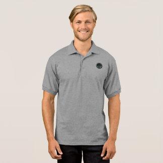 Pole of man of Gildan, gray Polo Shirt