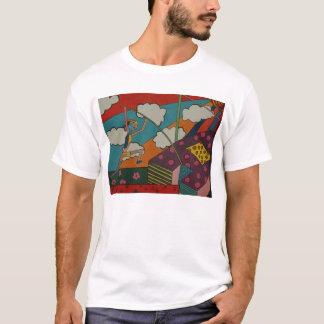 pole vault art T-Shirt