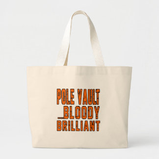 Pole vault Bloody Brilliant Canvas Bags