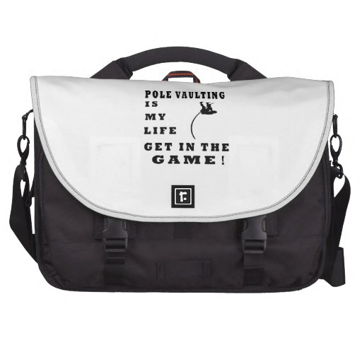 Pole Vaulting Is My Life Laptop Bags