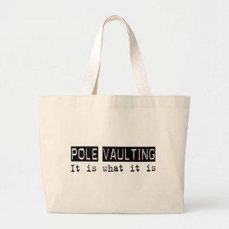 Pole Vaulting It Is Tote Bag