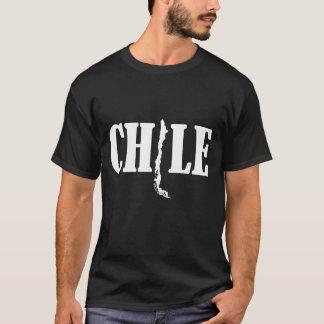 Polera Chile Mapa Negra 3 - 2013 T-Shirt