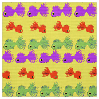 Polester fabric fishes custom