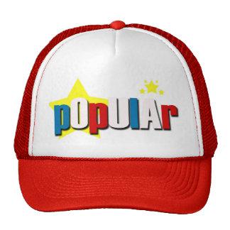"""POLI$HED """"POPULAR"""" HAT"""