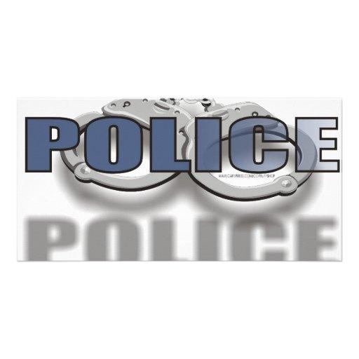 POLIC E CUSTOM PHOTO CARD