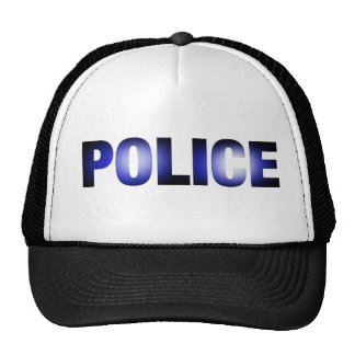 Police 3 mesh hats