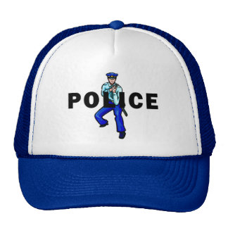 Police Action Mesh Hat