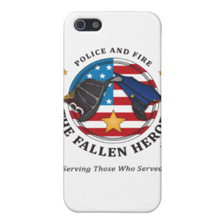 Police and Fire: The Fallen Heroes-iphone4 case Case For The iPhone 5