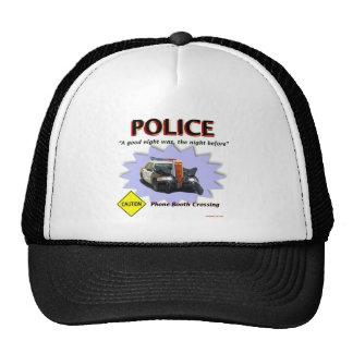 Police Bad Night Patrol Trucker Hat