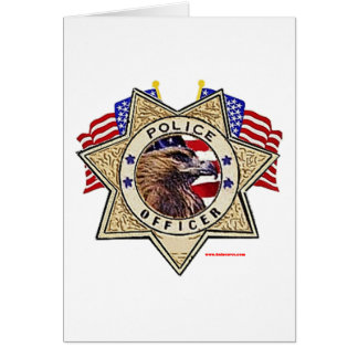 Police_Badge_Officer_Flags Card