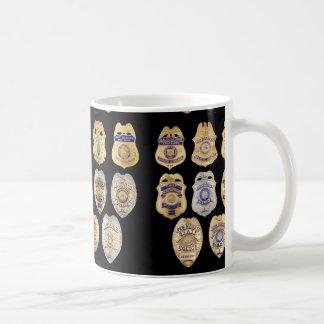 POLICE BADGES MUG