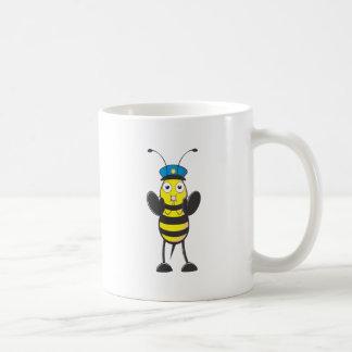 Police Bee Mugs
