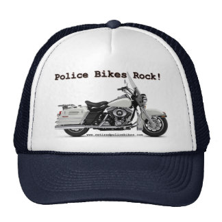 Police Bikes Rock Hat