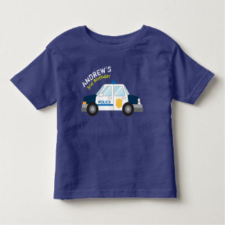 Police Birthday Tshirt