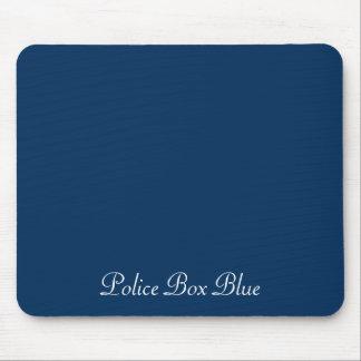 Police Box Blue Mousepad by Janz