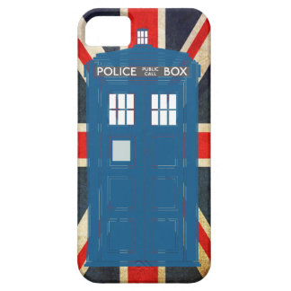 Police Box Customizable iPhone Case