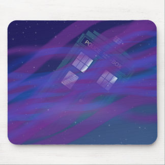 Police Box Mouse Pad