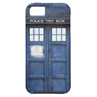 Police Call Box iPhone 5 Case