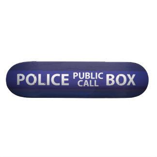 Police Call Box Skate Deck