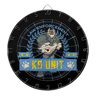 Police Canine Unit Dartboard