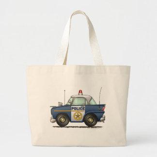 Police Car Law Enforcement Canvas Bag