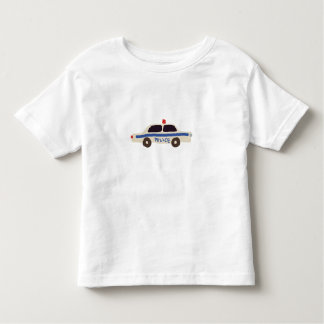 Police car toddler T-Shirt