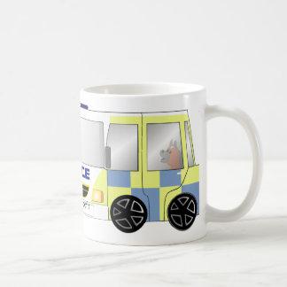 Police Car UK Mug