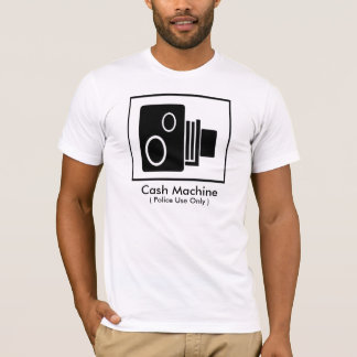 Police Cash Machine T-Shirt