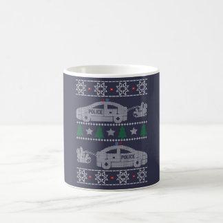 Police Christmas Coffee Mug