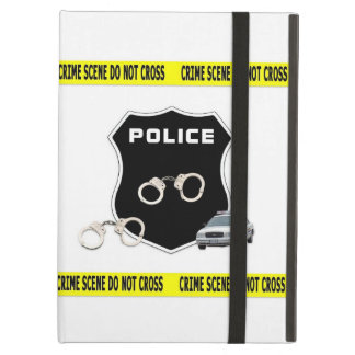 Police Crime Scene Cover For iPad Air