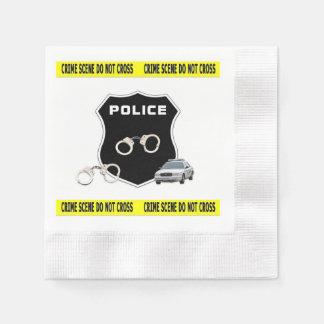 Police Crime Scene Disposable Serviette