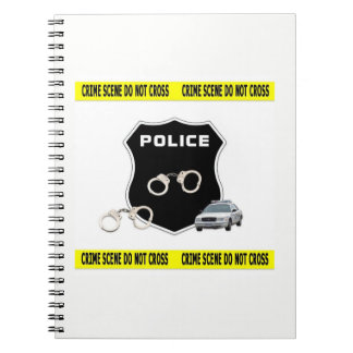 Police Crime Scene Notebooks
