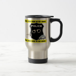 Police Crime Scene Travel Mug