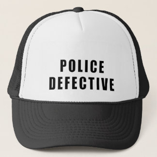 Police Defective - Oops Trucker Hat