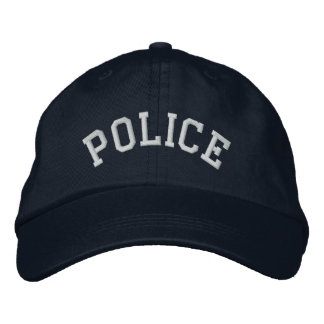 POLICE EMBROIDERED CAP