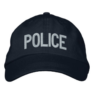 POLICE EMBROIDERED HATS