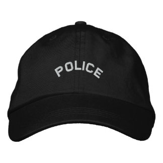 POLICE Embroidered Hat
