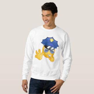 police emoji mens sweatshirt
