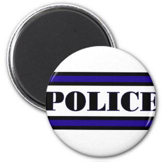 Police Family 6 Cm Round Magnet