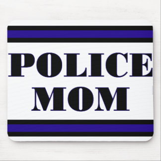 Police Family Mouse Pad