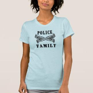 Police Family Tattoos Tshirt