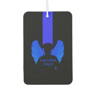 Police Guardian Angel Thin Blue Line Car Air Freshener