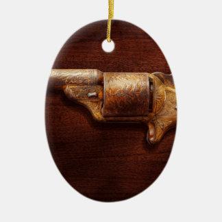 Police - Gun - Mr Fancy Pants Ceramic Ornament