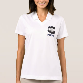 Police Hand Shake Polo T-shirts