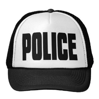 Police Mesh Hat