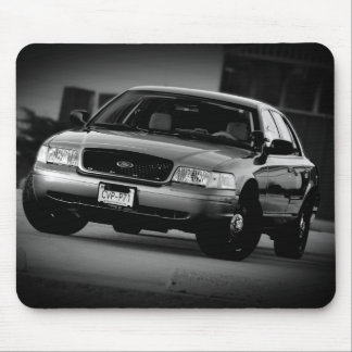 Police Interceptor Mousepad