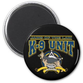 Police K-9 Unit 6 Cm Round Magnet