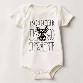 Police K-9 Unit Baby Bodysuit